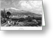 1833 Greeting Cards - Greece: Yanina, 1833 Greeting Card by Granger