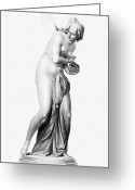 Psyche Photo Greeting Cards - Greek Mythology: Psyche Greeting Card by Granger
