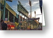 Green Monster Greeting Cards - Green Monster Greeting Card by Joann Vitali