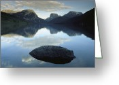 Refuges Greeting Cards - Green River Lake, Bridger-teton Greeting Card by Raymond Gehman