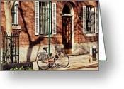 Guards Greeting Cards - Greenwich Village Greeting Card by Benjamin Matthijs