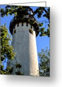 Historical Site Greeting Cards - Grosse Point Light House Greeting Card by Julie Palencia