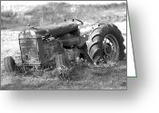 Tire Greeting Cards - Grounded Greeting Card by Mike McGlothlen