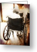 Wheels Greeting Cards - Growing Old Greeting Card by Robert Smith