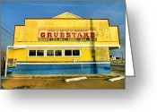 Groceries Greeting Cards - Grubstake Greeting Card by Steven Ainsworth