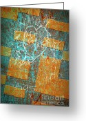 Colours Greeting Cards - Grunge Background 6 Greeting Card by Carlos Caetano