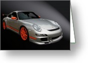 Hot Rod Greeting Cards - Gt3 Rs Greeting Card by Bill Dutting