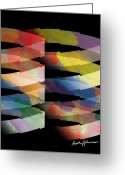 Guggenheim Greeting Cards - Guggenheim Greeting Card by Anthony Caruso