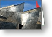 Guggenheim Museum Greeting Cards - Guggenheim Museum Bilbao - 5 Greeting Card by RicardMN Photography