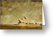 Sails Digital Art Greeting Cards - Guided Tour Greeting Card by Andrew Paranavitana