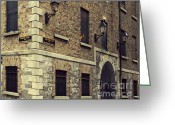 Beer Pyrography Greeting Cards - Guinness Storehouse Dublin Greeting Card by Louise Fahy