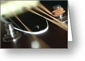 Acoustic Guitar Greeting Cards - Guitar Fender Greeting Card by Mizanur Rahman