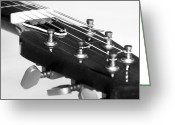 Stereo Greeting Cards - Guitar Greeting Card by Svetlana Sewell