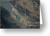 Marmara Greeting Cards - Gulf Of Izmit, Turkey Greeting Card by NASA/Science Source