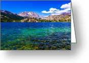 Da Greeting Cards - Gull Lake near June Lakes California Greeting Card by Scott McGuire