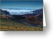 Island Photos Greeting Cards - Haleakala Crater 6 Greeting Card by Ken Smith