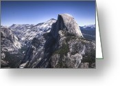 Reno Gregory Greeting Cards - Half Dome from Glacier Point Greeting Card by Reno Gregory