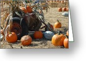 Autumn Photographs Greeting Cards - Halloween 106 Greeting Card by Joyce StJames