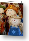 Autumn Photographs Greeting Cards - Halloween 109 Greeting Card by Joyce StJames