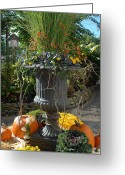 Autumn Photographs Greeting Cards - Halloween 89 Greeting Card by Joyce StJames