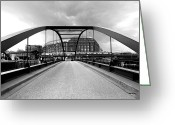 Hamburg Greeting Cards - Hamburg Hafencity Greeting Card by Marc Huebner