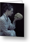 Edwardian Greeting Cards - Hamlet Greeting Card by Joana Kruse