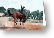 Great Painting Greeting Cards - Hang on Hastings Greeting Card by Tom Roderick