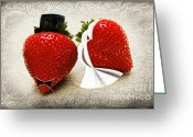 Delicacy Greeting Cards - Happily Berry After Greeting Card by Andee Photography
