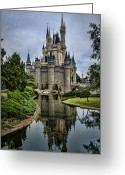 Disneyland Greeting Cards - Happily Ever After Greeting Card by Heather Applegate