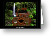 Country Scenes Photographs Greeting Cards - Happiness Greeting Card by Calum Faeorin-Cruich