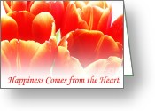 Consoling Greeting Cards - Happiness Greeting Card by Lj Lambert