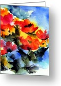 Summer Garden Greeting Cards - Happy Day Greeting Card by Anne Duke