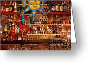 Pubs Greeting Cards - Happy Hour . 7D14187 Greeting Card by Wingsdomain Art and Photography