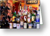 Jack Daniels Greeting Cards - Happy Hour SW Greeting Card by Accent on Photography