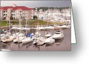 Myrtle Beach South Carolina Greeting Cards - Harbor at Myrtle Beach Greeting Card by David Bearden