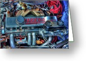 Antique Cars Greeting Cards - Hardcore Greeting Card by Joetta West