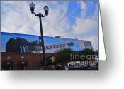 Nashville Greeting Cards - Hardrock Cafe Nashville Greeting Card by Susanne Van Hulst