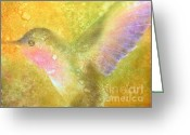 Spirit Greeting Cards - Harmony Greeting Card by Robert Hooper