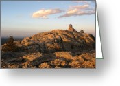 Great Plains Greeting Cards - Harney Peak at Dusk Greeting Card by Daniel  Taylor