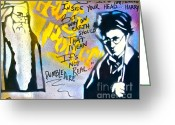 Tony B. Conscious Greeting Cards - Harry Potter with Dumbledore Greeting Card by Tony B Conscious