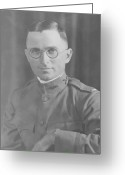 World War One Greeting Cards - Harry Truman During World War One Greeting Card by War Is Hell Store
