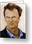 Clint Eastwood Greeting Cards - Harrys Law Greeting Card by Stefan Kuhn