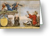 Federalist Greeting Cards - HARTFORD CONVENTION, c1814 Greeting Card by Granger