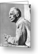 Neurosurgeon Greeting Cards - Harvey Cushing, American Neurosurgeon Greeting Card by 