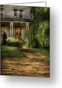 Maintenance Greeting Cards - Haunted - Haunted II Greeting Card by Mike Savad