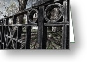 Imac Greeting Cards - Haunted? Greeting Card by Stephen Lawrence Mitchell