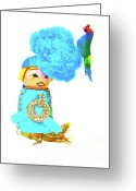 Fisher Price Little People Greeting Cards - Haute Couture Greeting Card by Ricky Sencion