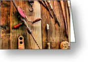 Johannesburg Greeting Cards - Have Tools Will Travel Greeting Card by Cindy Nunn