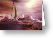 Safe Haven Greeting Cards - Haven Greeting Card by Carol and Mike Werner