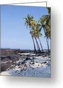 Big Island Greeting Cards - Hawaii Paradise Greeting Card by Kelley King